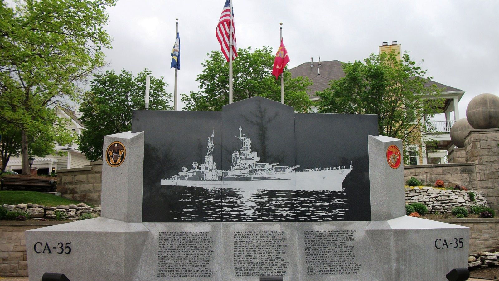 Indianapolis Museums - USS Indianapolis Memorial